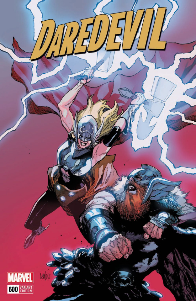 Daredevil #600 (Yu Mighty Thor Cover)