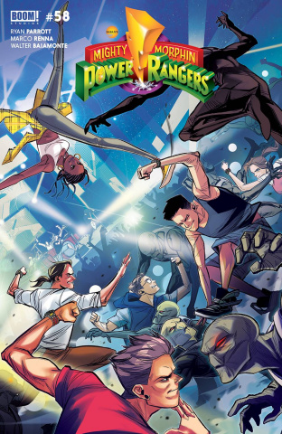 Mighty Morphin' #2 (Carlini Legacy Cover)