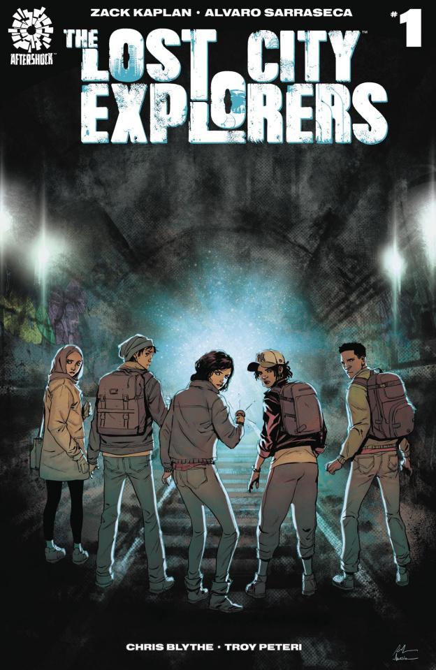 The Lost City Explorers #1 (La Torre & Maiolo Cover)
