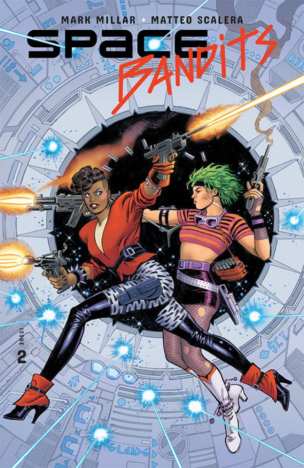 Space Bandits #2 (Legends Garcia-Lopez Cover)