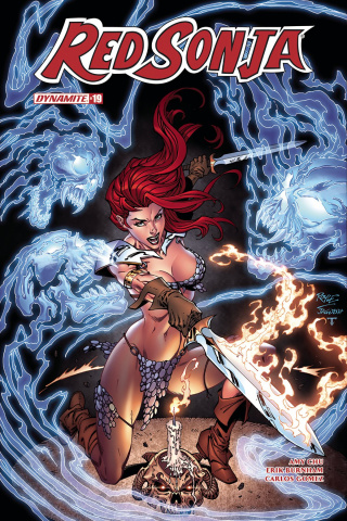 Red Sonja #19 (Royle Subscription Cover)