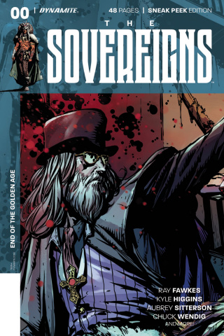 The Sovereigns #0 (10 Copy Desjardins Sneak Peek Cover)