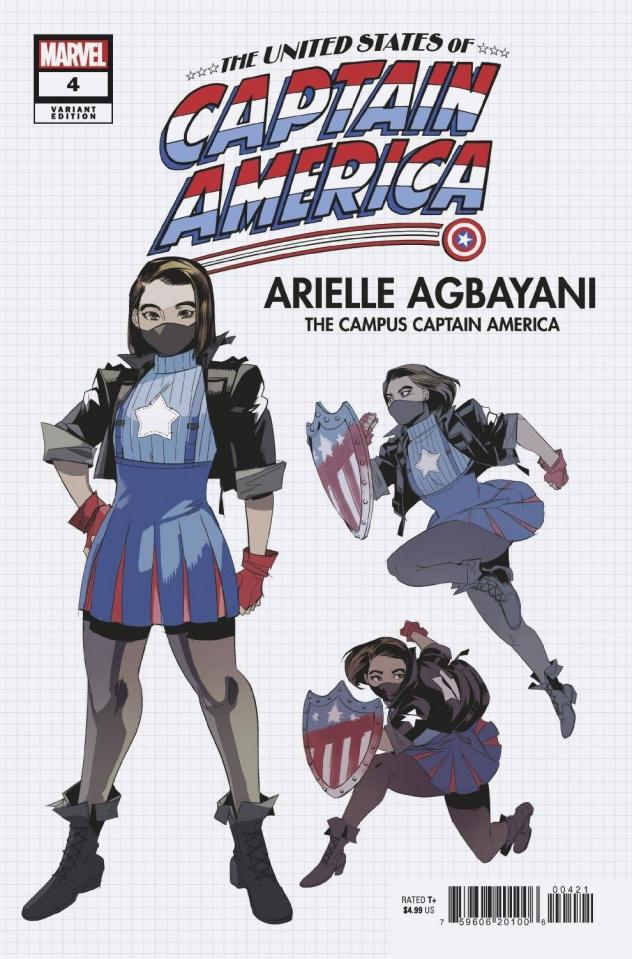 The United States of Captain America #4 (Nishijima Design Cover)