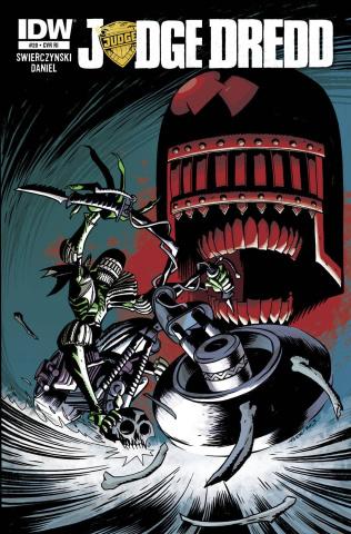 Judge Dredd #20 (Subscription Cover)