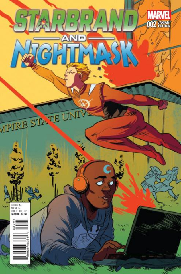 Starbrand and Nightmask #2 (Henderson Cover)