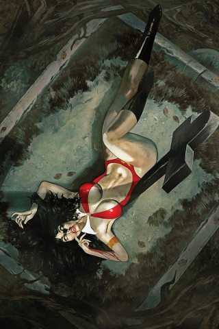 Vampirella #3 (Dalton Virgin Cover)