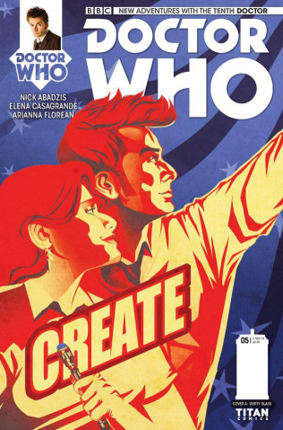 Doctor Who: New Adventures with the Tenth Doctor #5 (Glass Cover)
