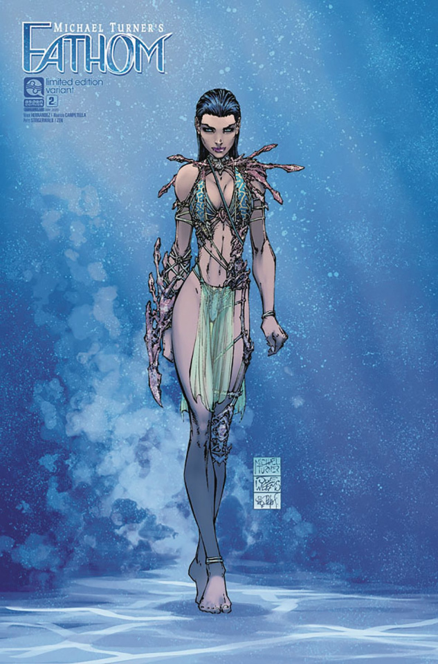 Fathom #2 (Turner Cover)