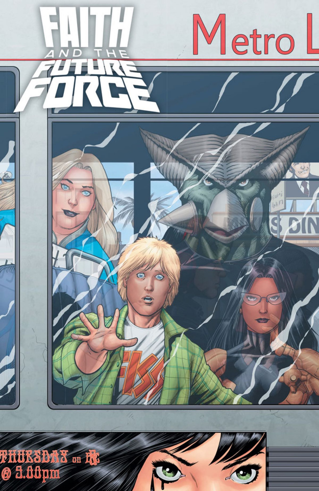 Faith and the Future Force #4 (Kitson Cover)