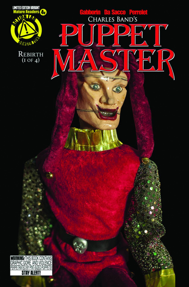 Puppet Master #4 (Jester Photo Cover)