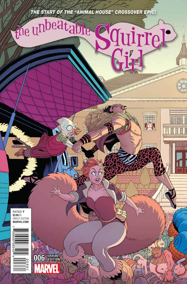 The Unbeatable Squirrel Girl #6 (Moore Connecting Cover)