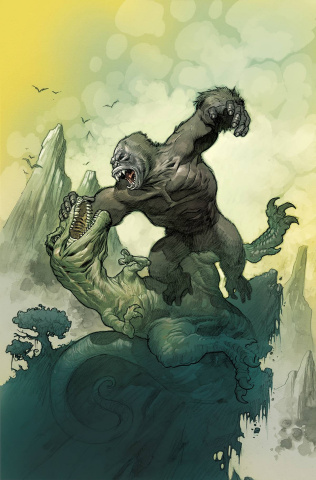 Kong of Skull Island #1 (33 Copy Powell Cover)