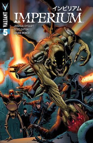 Imperium #5 (10 Copy Gill Cover)