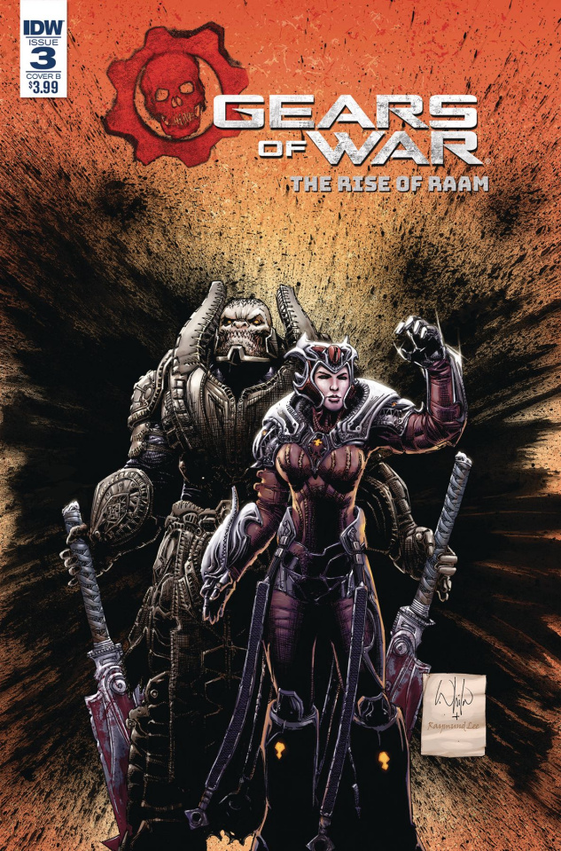 Gears of War: The Rise of RAAM #3 (Portacio Cover)