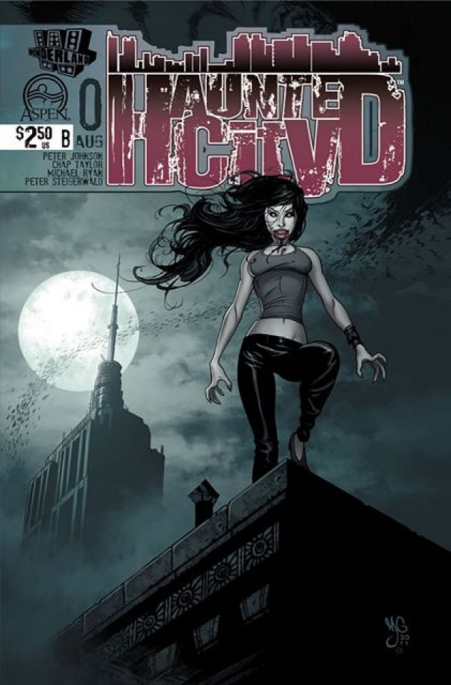 Haunted City #0 (Gunnell Cover)