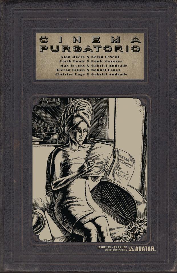 Cinema Purgatorio #15 (Ancient Tome Premium Cover)