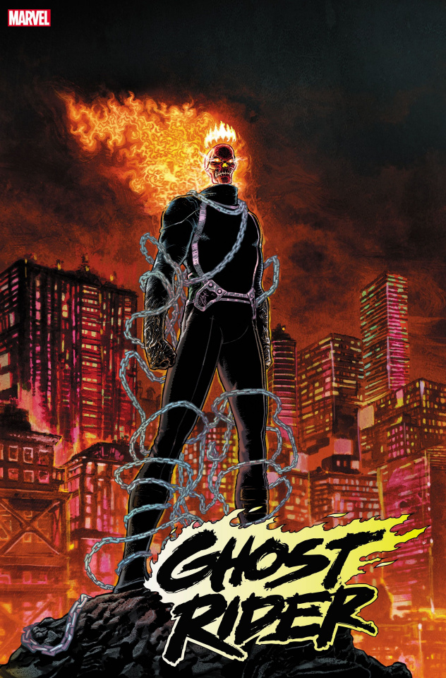 Ghost Rider #1 (King of Hell Kuder Cover)