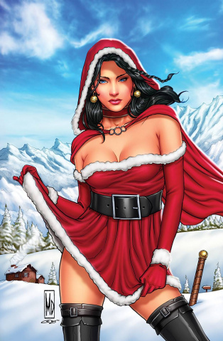 Grimm Fairy Tales 2020 Holiday Special (Dipascale Cover)