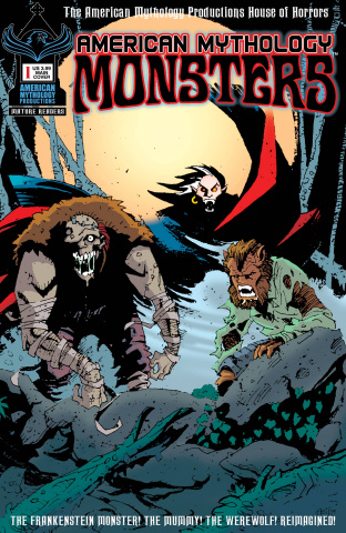 American Mythology: Monsters #1 (Vokes Cover)