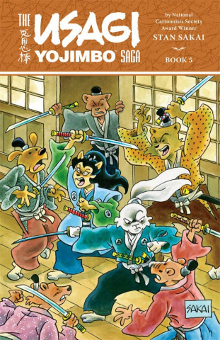 The Usagi Yojimbo Saga Vol. 5