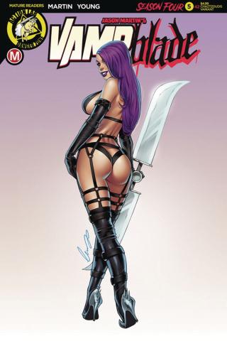 Vampblade, Season Four #5 (Chatzoudis Cover)