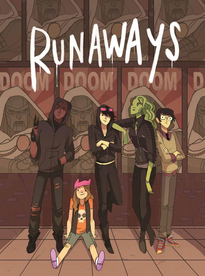 Runaways #2 (Stevenson Cover)