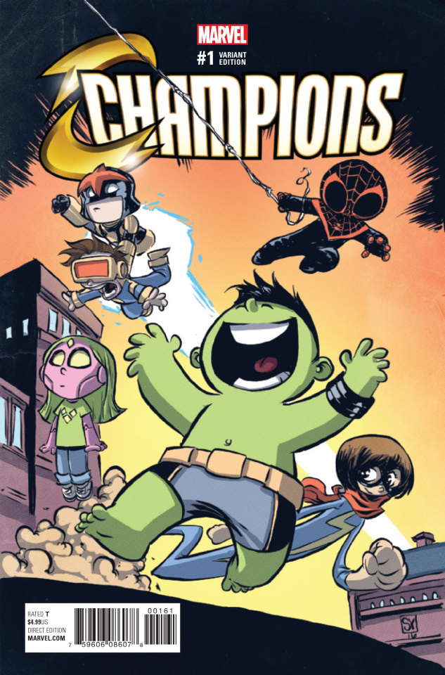 Champions #1 (Young Cover)