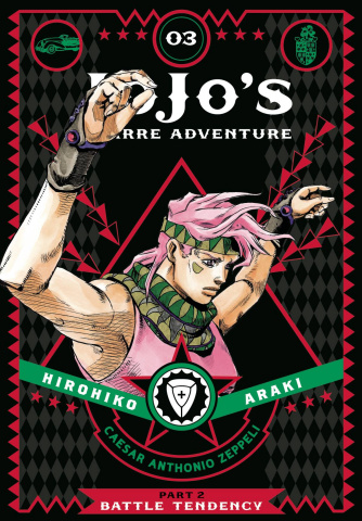 JoJo's Bizarre Adventure Vol. 3: Part 2, Battle Tendency