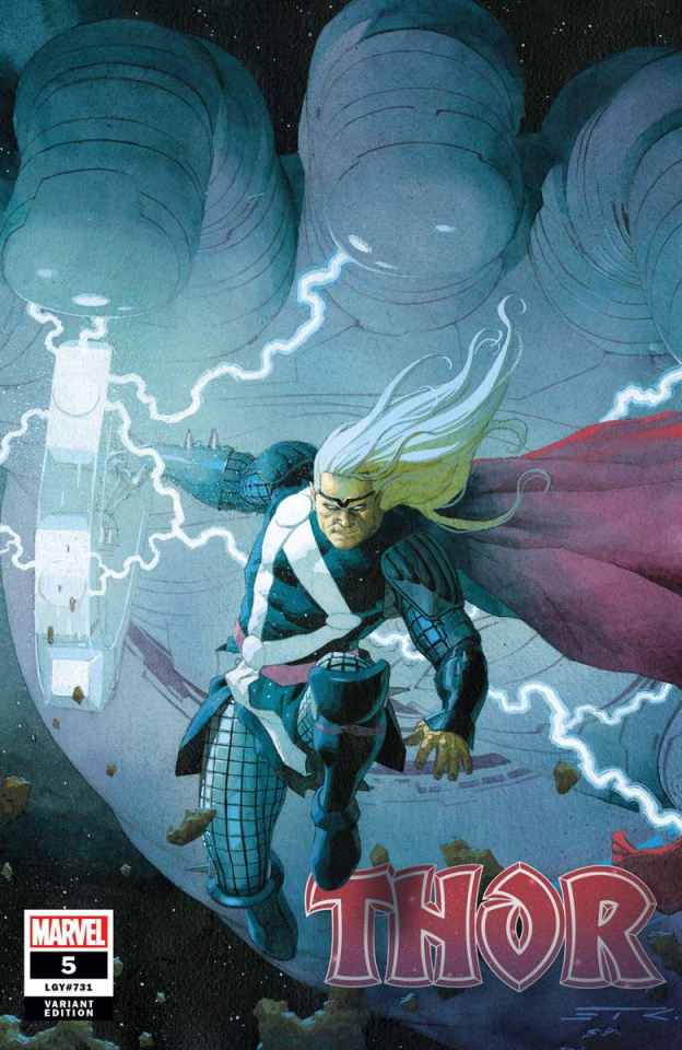 Thor #5 (Ribic Cover)