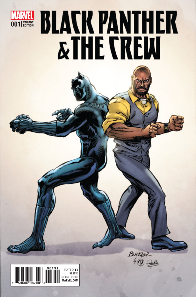 Black Panther & The Crew #1 (Buckler Classic Cover)