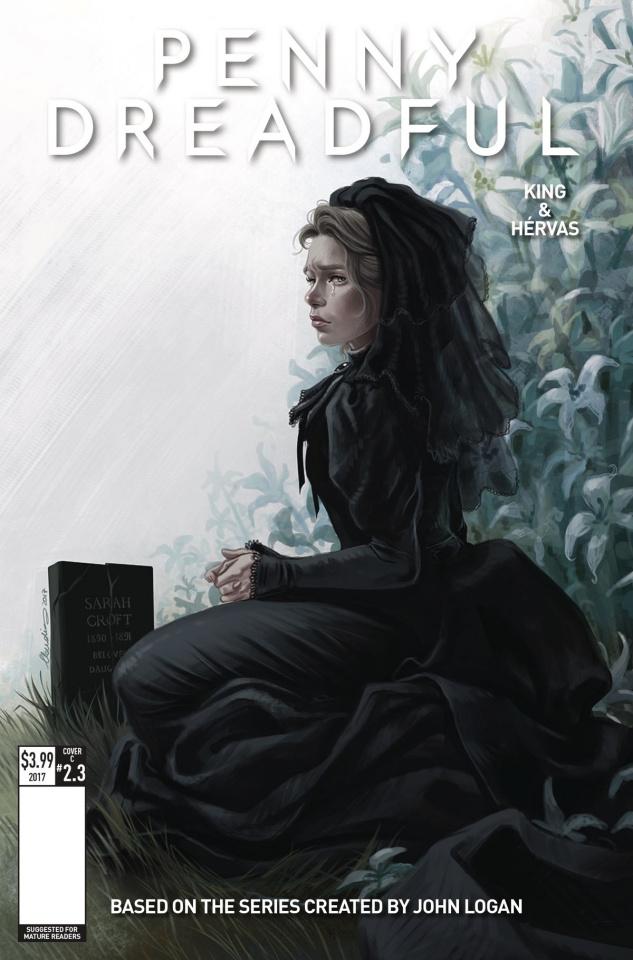 Penny Dreadful #3 (Iannicello Cover)