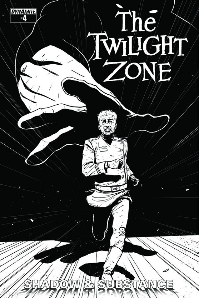 The Twilight Zone: Shadow & Substance #4 (15 Copy Vilanova B&W Cover)
