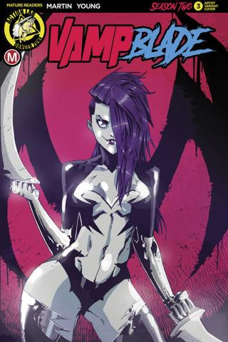 Vampblade, Season Two #3 (Maccagni Cover)
