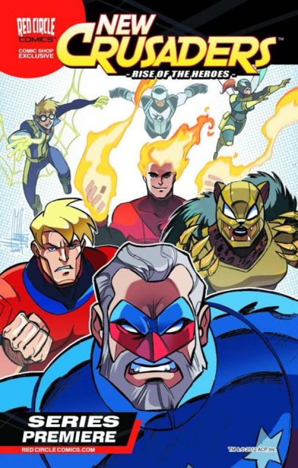 New Crusaders: Rise of the Heroes Mini Comic Bundle 2012