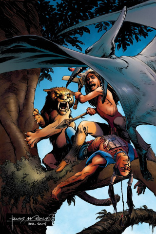 Turok #5 (30 Copy Morales Virgin Cover)