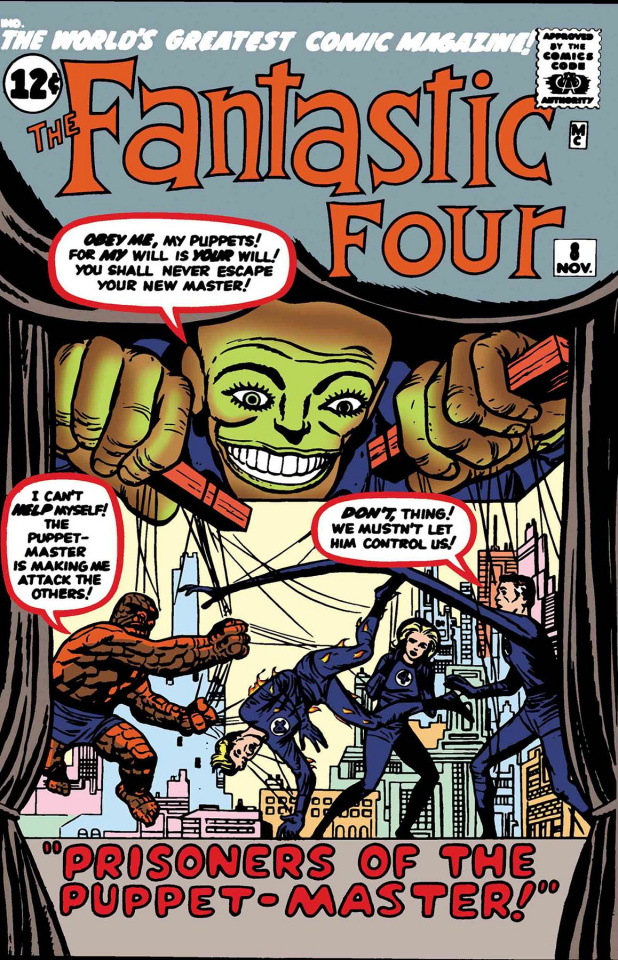 Fantastic Four: The Puppet Master #1 (True Believers)