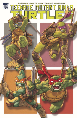 Teenage Mutant Ninja Turtles Sampler