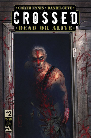 Crossed: Dead or Alive #2 (Horror Cover)