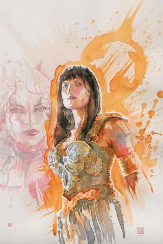 Xena: Warrior Princess #2 (10 Copy Mack Virgin Cover)