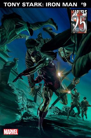 Tony Stark: Iron Man #9 (Alex Ross Marvels 25th Anniversary Cover)