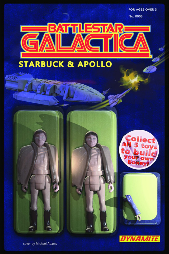 Battlestar Galactica #3 (Adams Action Figure Cover)