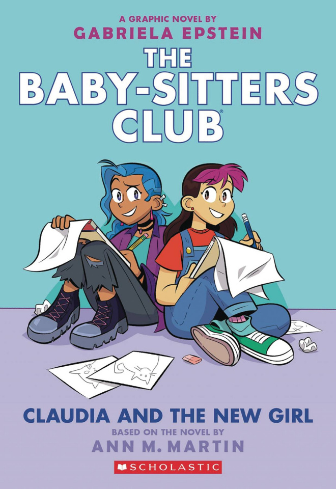 The Baby-Sitters Club Vol. 9: Claudia and the New Girl (Color Edition)