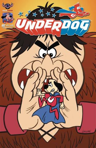 Underdog #2 (Giant Galvan Cover)
