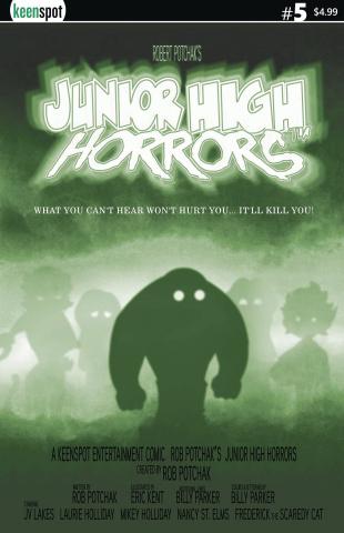 Junior High Horrors #5 (The Fog Parody Cover)