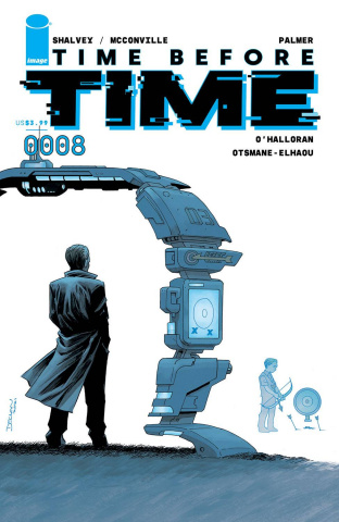 Time Before Time #8 (Shalvey Cover)