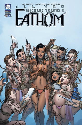 All New Fathom #2 (Renna Cover)