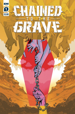 Chained to the Grave #1 (Sherron Cover)