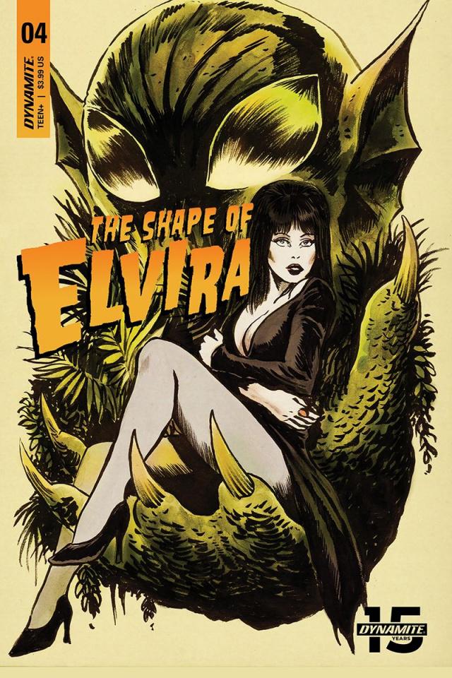 The Shape of Elvira #4 (Francavilla Cover)