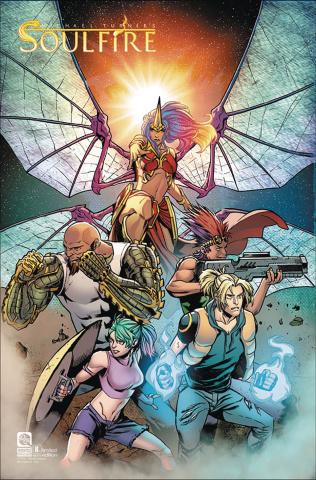 Soulfire #8 (10 Copy Risso Retailer Cover)