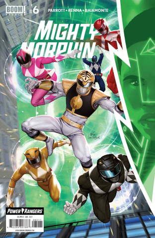 Mighty Morphin' #6 (Lee Cover)